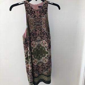 🌺Olivaceous Boho Sleeveless Dress